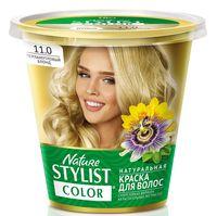 """Краска для волос """"Nature Stylist Color"""" тон: 11.0, перламутровый блонд"""