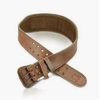 """Пояс тяжелоатлетический """"Premium Lifting Belt"""" (коричневый; M)"""