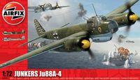 """Бомбардировщик """"Junkers Ju88-A4"""" (масштаб: 1/72)"""