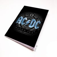 "Блокнот белый ""AC/DC"" А5 (441)"