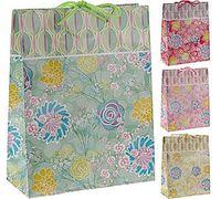 Пакет бумажный подарочный (в ассортименте; 18х8х23 см; арт. ABD912110)