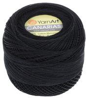 """Пряжа """"YarnArt. Canarias №9999"""" (20 г; 203 м; черный)"""