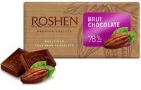 "Шоколад темный ""Roshen Brut"" (90 г; 78% какао)"