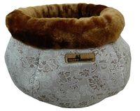 """Лежак для животных """"Лукошко"""" (38х20 см; коричневый)"""