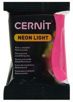 """Глина полимерная """"CERNIT Neon Light"""" (розовый; 56 г)"""