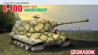 """Сверхтяжелый танк """"E-100 Heavy Tank Nachtjager"""" (масштаб: 1/35)"""