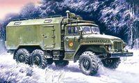 Подвижный командный пункт Урал375A (масштаб: 1/72)