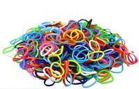 """Набор резиночек для плетения """"Rainbow Loom. Резинки Микс"""" (600 резинок+24 клипсы)"""