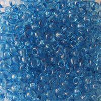 Бисер прозрачный №01132 (синий)