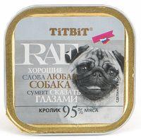 """Консервы для собак """"RAF"""" (100 г; кролик)"""