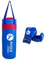 Набор для бокса (6 унций; синий)
