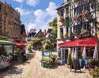 """Картина по номерам """"Уличное кафе"""" (400х500 мм)"""