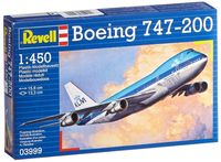 """Сборная модель """"Пассажирский самолет Boeing 747-200"""" (масштаб: 1/450)"""
