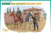 "Набор миниатюр ""German Don Cossack (Balkans 1944)"" (масштаб: 1/35)"