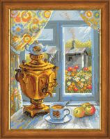 "Вышивка крестом ""Самовар"" (арт. 1145)"