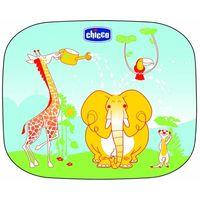 """Шторки солнцезащитные на присосках """"Chicco Safe. Слоник"""" (2 шт.; арт. 00003196000000)"""