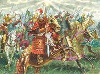"""Набор миниатюр """"Китайская кавалерия"""" (масштаб: 1/72)"""
