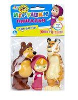"""Набор игрушек для купания """"Маша и Медведь. Маша, Медведь и Тигр"""" (3 шт.)"""