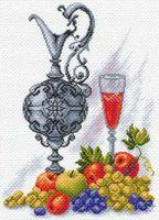 """Канва с нанесенным рисунком """"Молодое вино"""""""