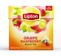 "Чай черный ""Lipton. Grape Raspberry"" (20 пакетиков)"