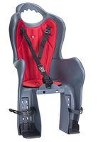 """Кресло велосипедное детское """"ELIBAS Р"""" (тёмно-серое)"""