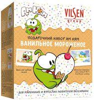 """Подарочный набор детский """"Ванильное мороженое"""" (зубная паста, шампунь)"""