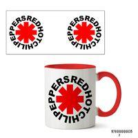 "Кружка ""Red Hot Chili Peppers"" (арт. 035, красная)"