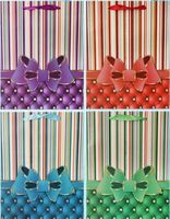 """Пакет бумажный подарочный """"Бант"""" (в ассортименте; 18x23x9 см; арт. МС-3024)"""