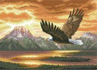 "Канва с нанесенным рисунком ""Орел"" (арт. А-1394)"