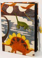 """Блокнот """"Динозавры"""" (А5; черная бумага)"""