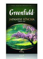Чай зеленый листовой "Greenfield. Japanese Sencha" (100 г)