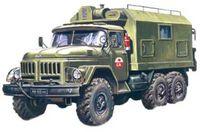 Подвижный командный пункт Зил-131 (масштаб: 1/72)