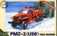 Пожарная автоцистерна ПМЗ-2 на базе US6 (масштаб: 1/72)