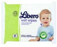 Салфетки увлажняющие детские Libero (20 шт)