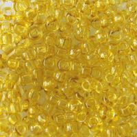 Бисер прозрачный №01151 (желто-зеленый; 10/0)