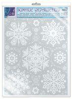 Зимние украшения на окна. Снежинки (Н-010021)