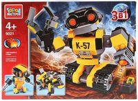 """Конструктор """"Робот 3 в 1"""" (303 детали)"""
