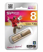 USB Flash Drive 8Gb Silicon Power Luxmini 720 (Bronze)