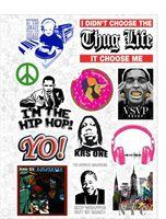 "Набор виниловых наклеек №551 ""Thug Life"""