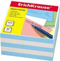 """Бумага для заметок """"Erich Krause"""" (90х90 мм; бело-голубая; арт. 2723)"""