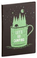 "Обложка на паспорт ""Let's go camping"""