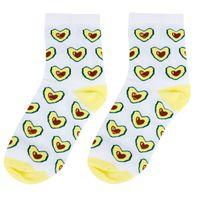 "Носки женские ""Любимое авокадо"""