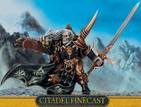 """Миниатюра """"Warhammer FB. Finecast: Vampire Counts Vlad Von Carstein"""" (91-62)"""