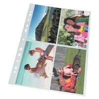 Карман с перфорацией для фотографий 10х15 (10 штук)