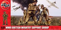 "Набор миниатюр ""WW.II British Infantry Support Group"" (масштаб: 1/32)"