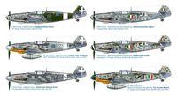 """Истребитель """"BF 109 G-6 Italian ACES"""" (масштаб: 1/48)"""