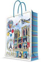 """Пакет бумажный подарочный """"Нотр-Дам"""" (17,8х22,9х9,8 см; арт. 44217)"""
