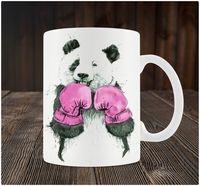 """Кружка """"Панда-боксер"""""""