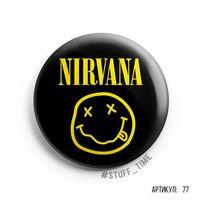 "Значок ""Nirvana"" (арт. 077)"