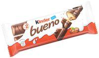 """Вафли глазированные """"Kinder Bueno"""" (43 г)"""